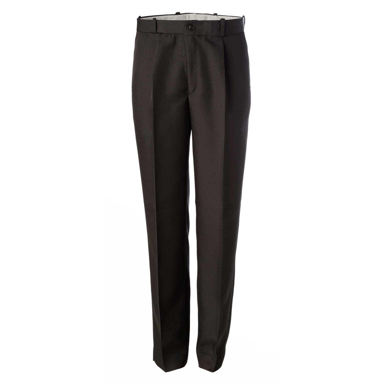 8dd38c5a821 Pantalón negro de hombre con pliegues | Artel Uniformes