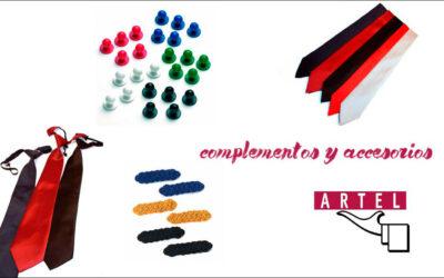 UNIFORMES PERSONALIZADOS CON LOS ACCESORIOS Y COMPLEMENTOS DE ARTEL UNIFORMES